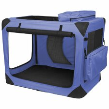 Home' n Go Deluxe Portable Soft Intermediate Pet Crate