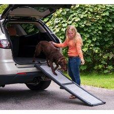 """Carpeted 66"""" Pet Ramp"""
