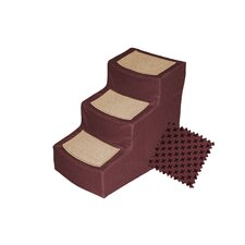 Designer 3 Step Pet Stair with Removable Cover