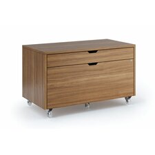 Modica 2-Drawer Mobile File Pedestal