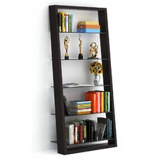 "Eileen 74"" Leaning Bookcase"