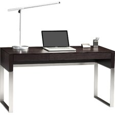 Cascadia Writing Desk with Keyboard Tray