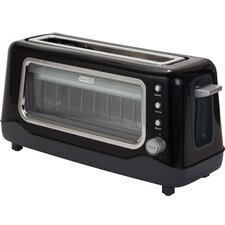 Dash 2 Slice View Toaster with Browning Control