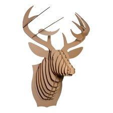 Bucky Deer Bust Wall Décor