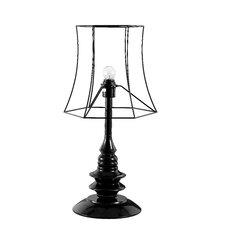 "Helenah 25"" H Table Lamp with Empire Shade"