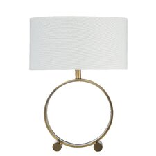 """Alli 24"""" H Table Lamp with Drum Shade"""