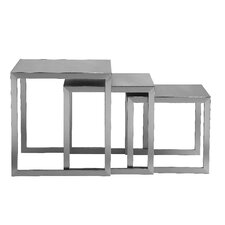 Century 3 Piece Nesting End Table