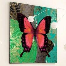 Metamorphosis Modern Butterfly #2 Framed Graphic Art