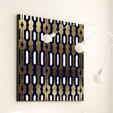 Woven Top Knot #2 Framed Graphic Art
