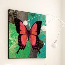Metamorphosis Modern Butterfly #3 Framed Graphic Art