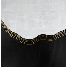 Abstract Yang Framed Graphic Art
