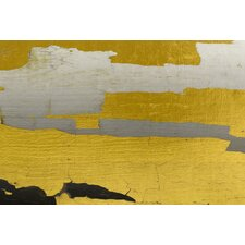 Abstract Golden Way Framed Painting Print