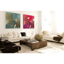 Abstract Geo Blend Framed Original Painting