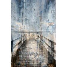 Landscape Boardwalk Framed Graphic Art