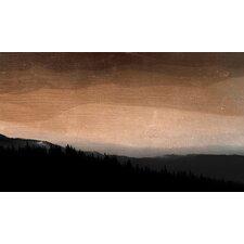 Landscape Rolling Plains #2 Framed Graphic Art