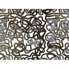Woven Haring #2 Framed Graphic Art