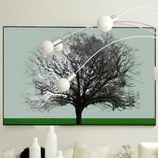 Nature Good & Evil Framed Graphic Art