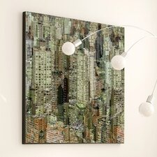 Architecture Urban Forest  Framed Graphic Art