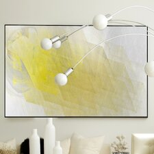Abstract Echo Framed Graphic Art
