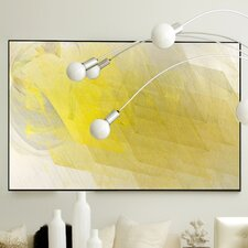 Abstract Pulsate Framed Painting Print