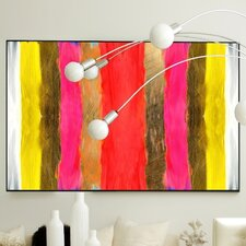 Abstract Uptown Framed Painting Print