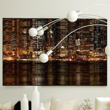 Architecture Light Bright Framed Graphic Art