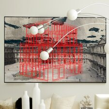 Architecture Red Shell Framed Graphic Art