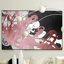 Abstract Whipped Framed Painting Print