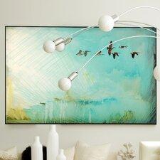 Abstract Birds Framed Graphic Art