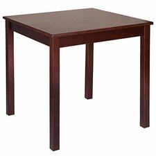 "Pine Wood 28"" Square Dining Table"