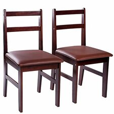 Pine Wood Dining Chair (Set of 2)