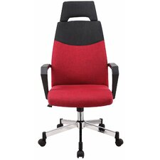High-Back Office Chair with Headrest