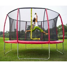 14' Round Trampoline with Safety Enclosure
