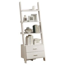 Ladder 69'' Leaning Bookcase