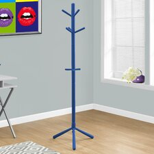 Wood Style Contemporary Coat Rack