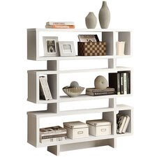 "54.5"" Accent Shelves Bookcase"