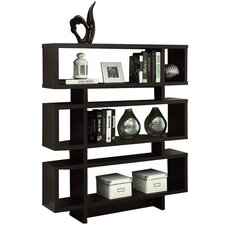 """54.5"""" Accent Shelves Bookcase"""