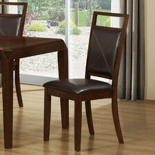Side Chairs in Brown (Set of 2)