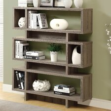 "Reclaimed Look Modern 55"" Standard Bookcase"