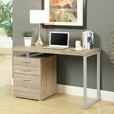 Computer Desk with 3 Space Storage Drawers