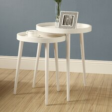 Monarch 2 Piece Nesting Table Set