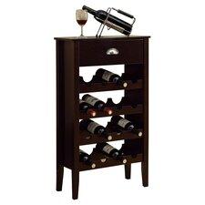 16 Bottle Floor Wine Rack