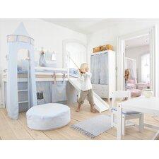 Vorhang in Fairytale Knight für 200cm x 90cm halbhohes Bett