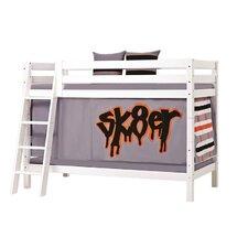 Etagenbett XXL mit Skaterthema, 70 x 160 cm