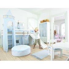 Vorhang in Fairytale Knight für 200cm x 90cm mittelhohes Bett
