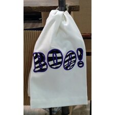 Egyptian Quality Cotton Huck Holiday Applique Boo Hand Towel