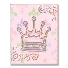 The Kids Room Crown Rec Wall Plaque