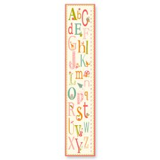 The Kids Room Girl ABC Growth Chart