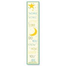 The Kids Room Twinkle Twinkle Little Star Growth Chart