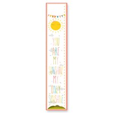 "The Kids Room ""You Are My Sunshine"" Growth Chart"